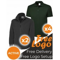 Active Wearer Pack Embroidered Bundle Deal