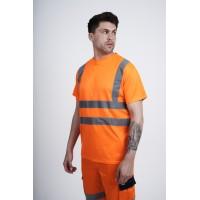 kapton® High Visibility Short Sleeve Crew Neck T-Shirt (006)