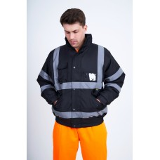 kapton® High Visibility Security Safety Bomber Jacket