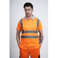 kapton® High Visibility Short Sleeve Polo Shirt
