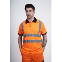 kapton® High Visibility Short Sleeve Polo Shirt (NC)