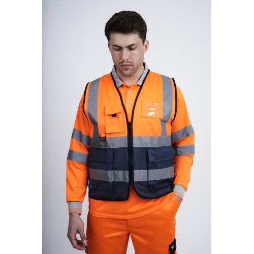 kapton® High Visibility Two Tone Executive Utility Vest