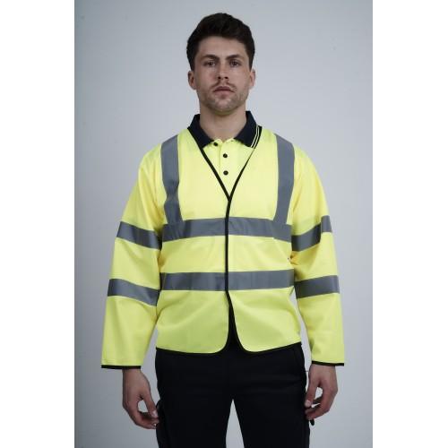 kapton® High Visibility Long Sleeve Vest Waistcoat
