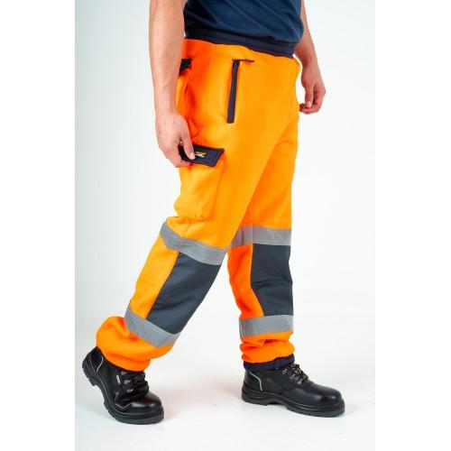 kapton® High Visibility Contrast Combat Jogging Fleece Bottoms