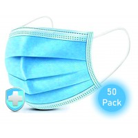 Protective Disposable Face Mask Pack of 50