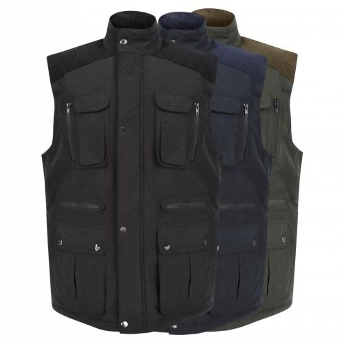 JBC Collection® Corduroy Padded Body Warmer