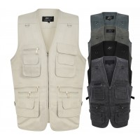 JBC Collection® Multi Pocket Utility Vest