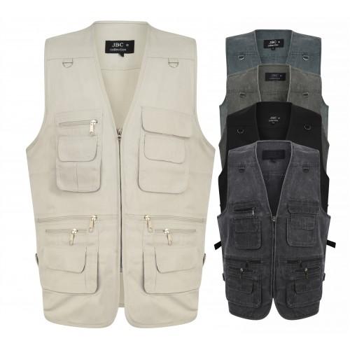 JBC Collection® Multi Pocket Utility Vest
