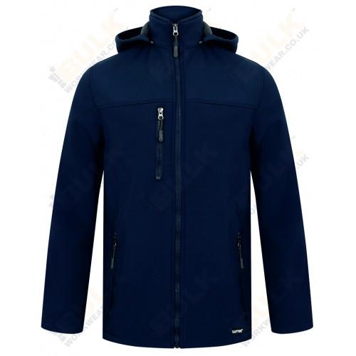 Kapton® Softshell Jacket with Detachable Hood