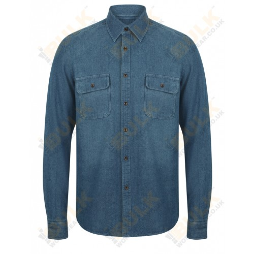Warp & Weft® Denim Shirt