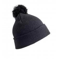 Result® Winter Essentials Pom pom beanie hat