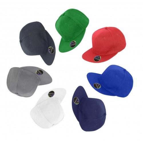 Result® original flat peak snapback baseball cap