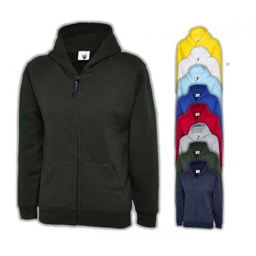 UNEEK® Childrens Classic Full Zip Hooded Sweatshirt