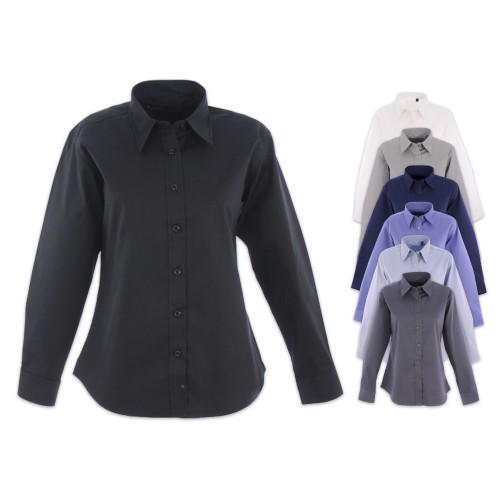 UNEEK® Ladies Pinpoint Oxford Full Sleeve Shirt