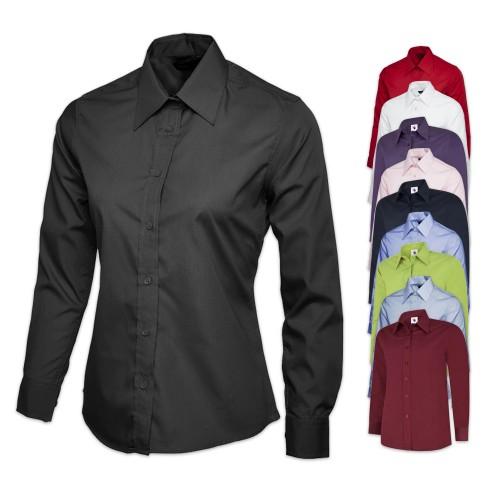 UNEEK® Ladies Poplin Full Sleeve Shirt