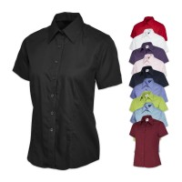 UNEEK® Ladies Poplin Half Sleeve Shirt