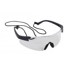 Blackrock® Premium Clear Safety Spectacle Inc. Carry Bag & Neck Cord EN166