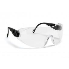 Blackrock® Clear Wraparound Spectacle Double Arm Adjust EN 166