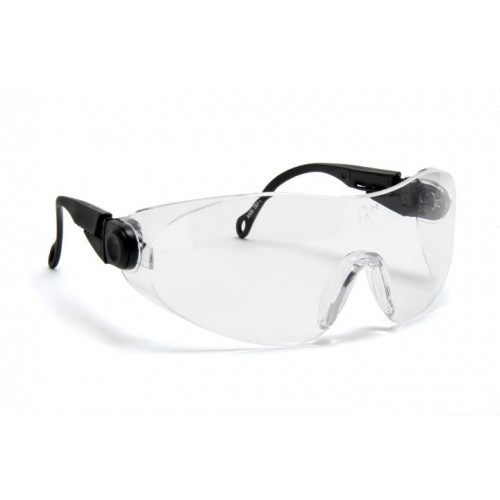 Blackrock® Clear Wraparound Spectacle Double Arm Adjust EN 166