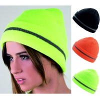 Atlantis Enhanced Visibility Reflective Beanie Hat