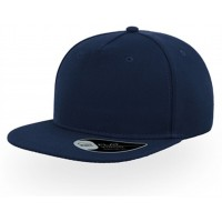 Original Flat Peak Snapback 5 Panel Baseball Cap