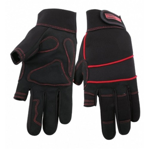 Blackrock Thumb & Forefinger Fingerless Electricians / Machine Gloves