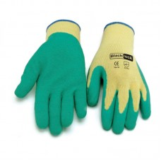 Protective Safety Gloves Medium Weight Latex Coated EN388 2121 EN420