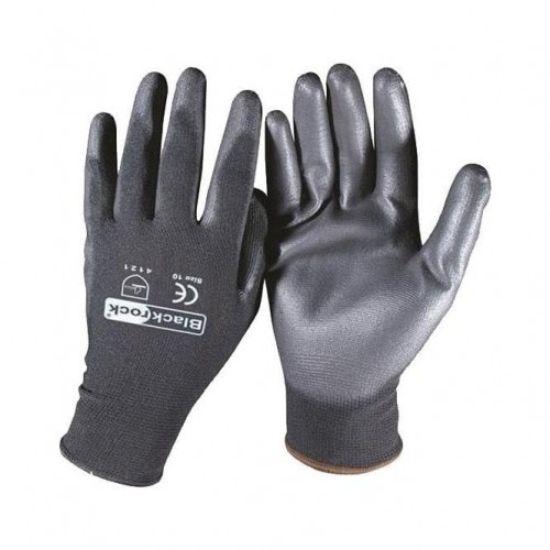 Protective Safety Gloves Lightweight PU Coated EN420 EN388 4131 CAT II