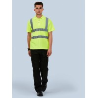Wholesale Blackrock® High Visibility Short Sleeve Polo Shirt