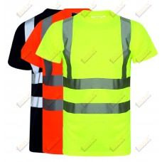 kapton® High Visibility Short Sleeve Crew Neck T-Shirt (006)
