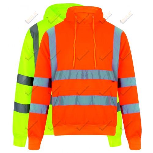 kapton® High Visibility Hooded Sweatshirt Hoodie