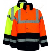 kapton® High Visibility Two Tone Parka Coat