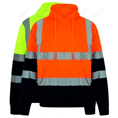 kapton® High Visibility Two Tone Hooded Sweatshirt