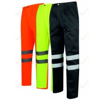 kapton® High Visibility Polycotton Work Trousers