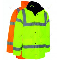kapton® High Visibility Safety Parka Coat