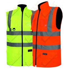 kapton® High Visibility Padded Reversible Body Warmer