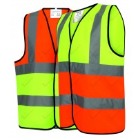 50 Hi Viz Two Tone Safety Vests Bundle Deal (326)