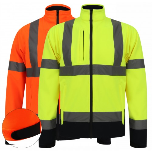 kapton® High Visibility Two Tone Softshell Jacket