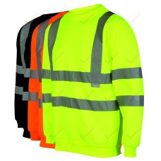 kapton® High Visibility Crew Neck Sweatshirt