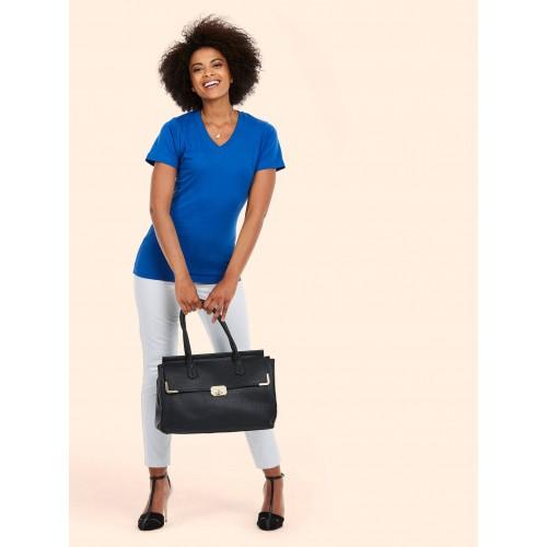 UNEEK® Ladies Classic V Neck T Shirt