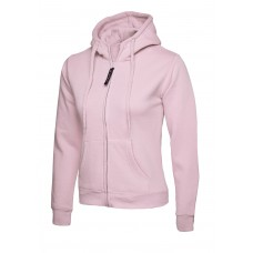 UNEEK® Ladies Classic Full Zip Hooded Sweatshirt