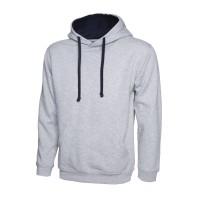 UNEEK® Contrast Hooded Sweatshirt | Two Tone