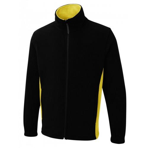 UNEEK® Two Tone Full Zip Fleece Jacket