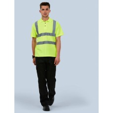 Hi-Viz High Visibility Polo Shirt