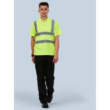 Hi-Viz High Visibility Polo Shirt