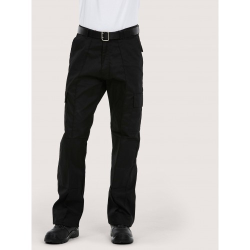 Big & Tall Workwear Cargo Trouser with Knee Pad Pockets