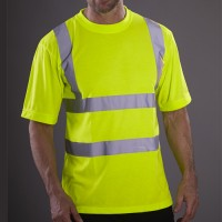 Wholesale Blackrock® High Visibility Short Sleeve Crew Neck T-Shirt