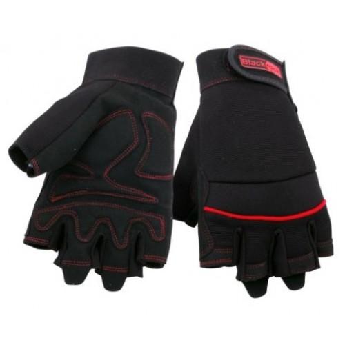 Blackrock Mens Thermal Gripper Gloves Blue//Yellow