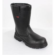 Blackrock® Fur Lined Safety Rigger Boot S1-P SRC - Black