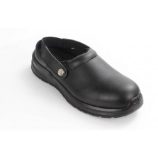 Blackrock® Hygiene Clog S2 SRC - Black -Steel Toe - Anti Slip